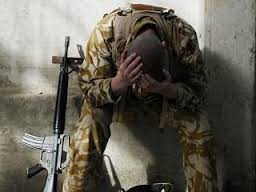 HURTING SOLDIER