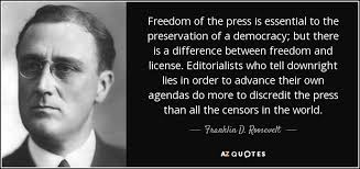 freedom of press a3